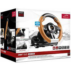 Speedlink DRIFT O.Z. volan, PC-PS3, crno-narančasti