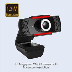 Adesso CyberTrack H3 720p HD web kamera, crna CyberTrack H3