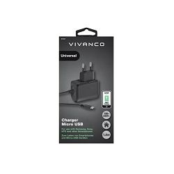 Strujni punjač Vivanco 2.4A Fast Charging Micro USB