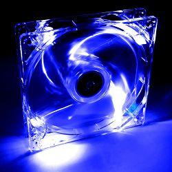 System Fan Akyga AW-12A-BL 12cm LED blue, 3pin