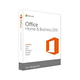 Microsoft Office Home & Bussines 2016 32-bit/x64 Eng, medialess (Word, Excel, Powerpoint, OneNote, Outlook)