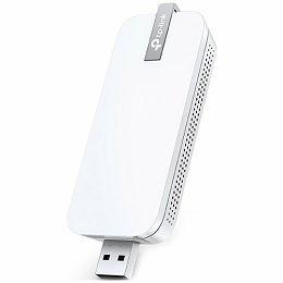 USB Wi-Fi Range Extender TP-Link, 300Mbps, 2.4GHz, 802.11b/g/n, USB 2.0 Port, WPS button, Range Extender mode, 2 internal antennas, Tether App