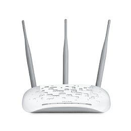 TP-Link bežična pristupna točka (AP) 450Mbps (2.4GHz), 802.11n/g/b, podrška za Pasivni PoE, AP/Client/Bridge/Repeater, Multi-SSID, 3× 4dbi odvojive antene