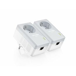TP-Link 600Mbps Powerline Adapter Kit with AC Pass Through