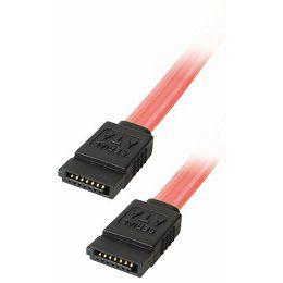 Transmedia SATA 150 jack to SATA 150 jack 0,5m Fluorescent pink