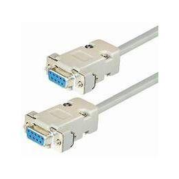 Transmedia Null Modem Cable Sub D-jack 9 pin, 3m