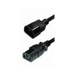 Transmedia IEC320 C14 plug -IEC320 C13 jack 1,5m