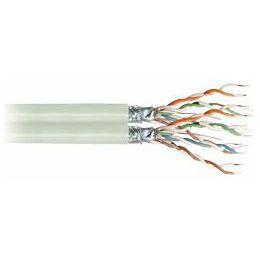 Transmedia Duplex S-FTP Cable, CAT5e beige, on spool, 100 m