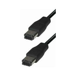 #231, Firewire 6 pin to 6 pin, 2m