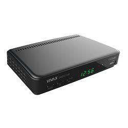 TV tuner VIVAX IMAGO DVB-T2 182, H.265 / H.264, DVB-T MPEG4, USB 2.0 PVR Rec&Play, HDMI, SCART DVB-T2 182