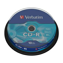 CD-R Verbatim 700MB 52× DataLife 10 pack spindle EP