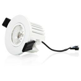 Verbatim LED spotlight ugradbeni 10W, 810lm, 3000K, IP44, dimabilan, bijeli