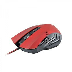 WHITE SHARK gaming miš HANNIBAL crveni 3200dpi