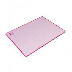WHITE SHARK gaming podloga za miša LOTUS 40x30cm roza