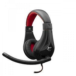 WHITE SHARK gaming slušalice SERVAL crno-crvene
