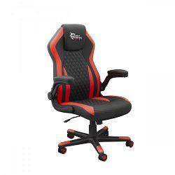 WHITE SHARK gaming stolica DERVISH crno-crvena