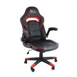 WHITE SHARK gaming stolica SHEBA crno-crvena