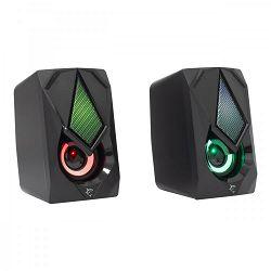 WHITE SHARK RGB gaming 2.0 stereo zvučnici GSP-619 BEAT