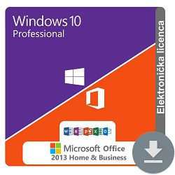 Windows 10 Professional + MS Office 2013 Home and Business ESD