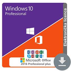Windows 10 Professional + MS Office 2016 Professional Plus ESD