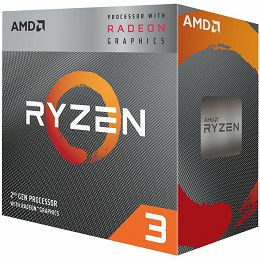 AMD CPU Desktop Ryzen 3 4C/4T 2200G (3.7GHz,6MB,65W,AM4) box, RX Vega Graphics, with Wraith Stealth cooler