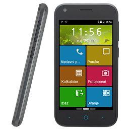 Smartphone ZTE Blade L110, DualSIM, crni