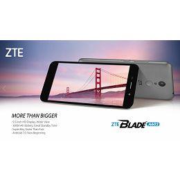 Smartphone ZTE Blade A602, DualSIM, sivi