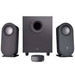 Zvučnici LOGITECH Z407 2.1, bežični, crni 980-001348