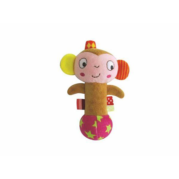 Zvečka ručna mekana majmun MoMo, 0127214