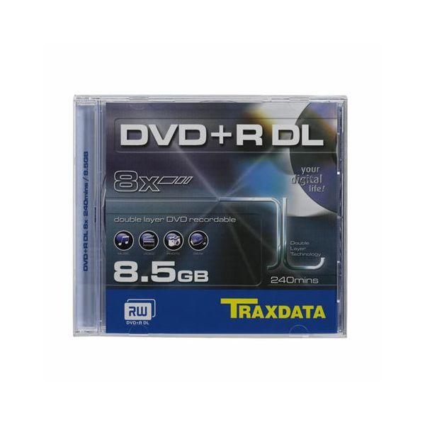 TRAXDATA OPTIČKI MEDIJ DVD+R DUAL LAYER 8X BOX 1, 0233248