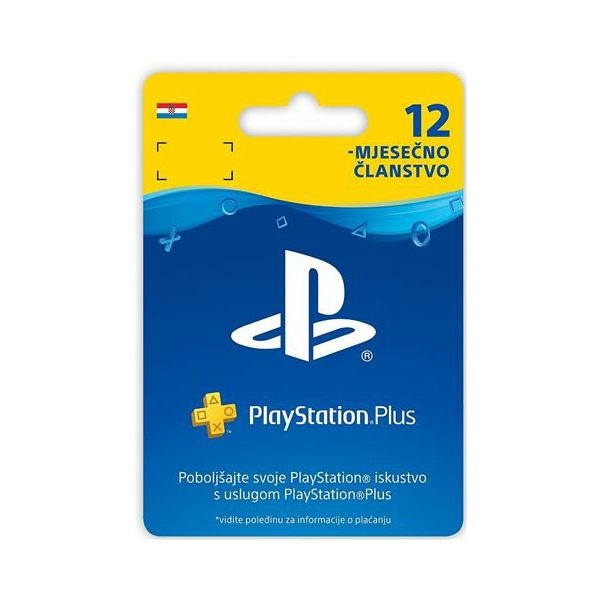 GAME PS4 PlayStation Plus Card 365 Days Hanger, 02451021