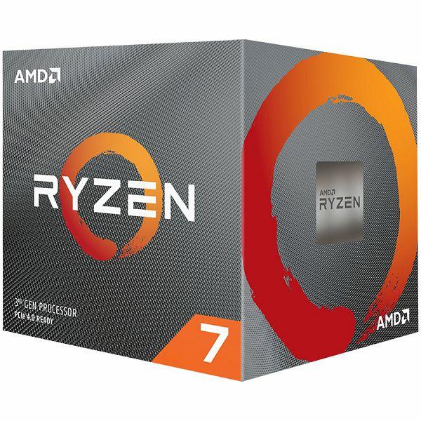 AMD Ryzen 7 8C/16T 3800X (4.5GHz,36MB,105W,AM4) box with Wraith Prism + POKLON 1 IGRA: Borderland 3 ili The Outer Worlds, 100-100000025BOX