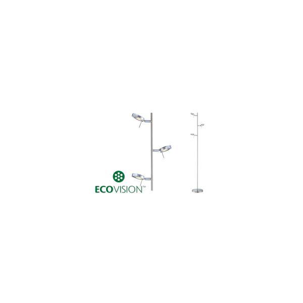 EcoVision LED podna svjetiljka sa 3 akrilna sjenila, 3×5W, 3000K, 21037