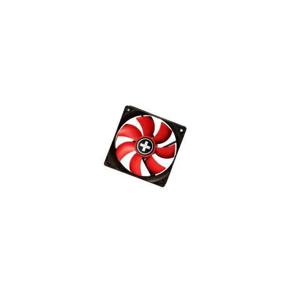 Xilence hladnjak za kućište 92×92×25mm, crno/crveni, 24635