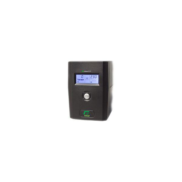 Elsist UPS Nemo2.0 65 650VA/330W, Line-Interactive, noise filtering, overvoltage/undervoltage/overload/shortcircuit protection, 38805