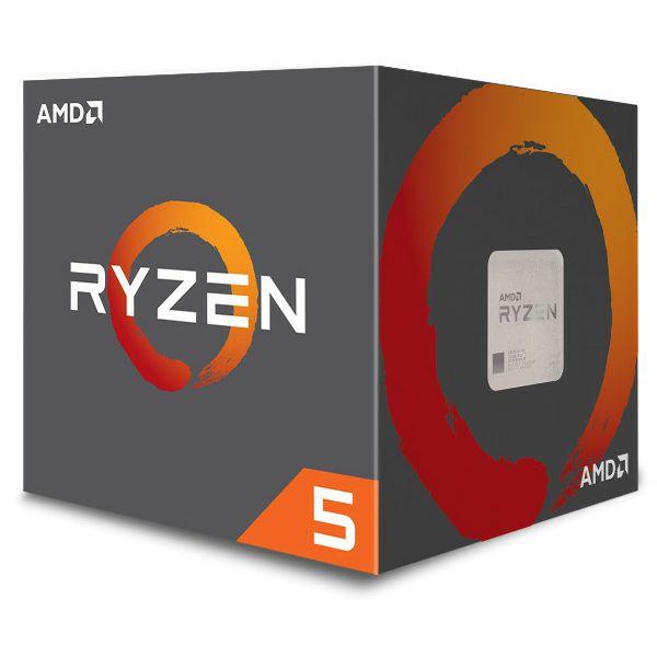 AMD Ryzen 5 1600 AF, 6C/12T 3,4GHz, 19MB, AM4, Wraith Stealth, amd-r5-1600