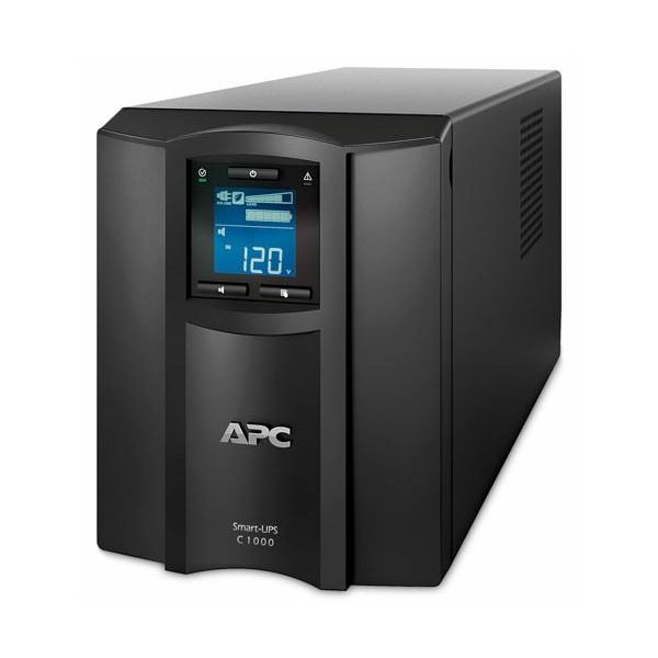 APC Smart-UPS C 1000VA LCD 230V with SmartConnect, APC-SMC1000IC