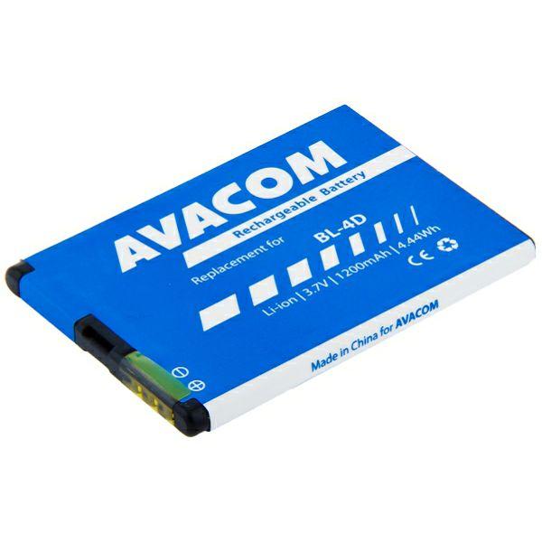 Avacom baterija za Nokiu E7, N8 Li-Ion 3,7V 1200mA, ava-gsno-bl4d-s120