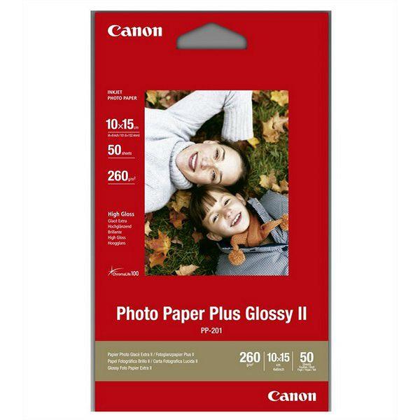Canon Photo Paper Plus PP201 10x15 - 50L, can-pp201s