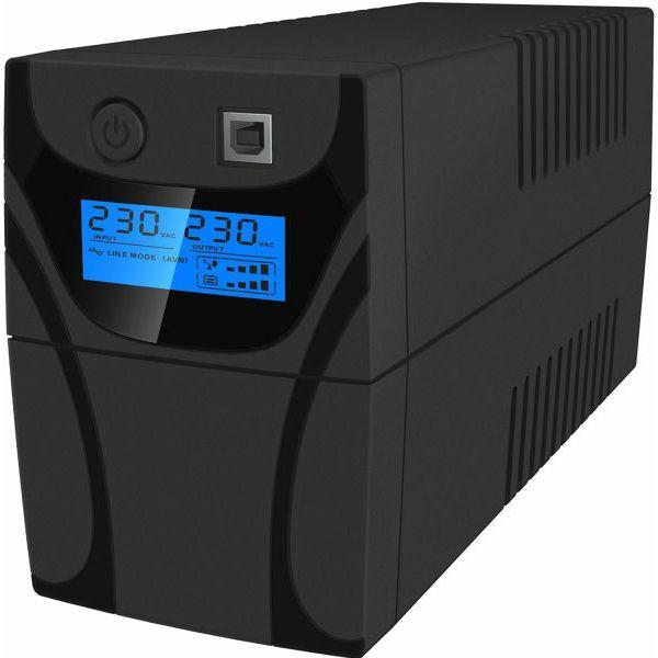 C-Lion UPS Aurora Vista+ 650, 360W, AVR, USB, cen-aur-650vis-cnt