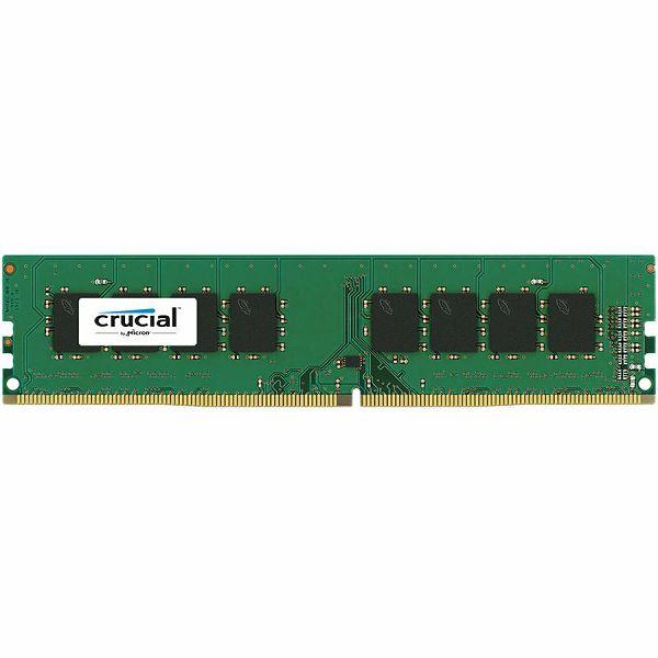 Crucial DRAM 4GB DDR4 2400 MT/s (PC4-19200) CL17 SR x8 Unbuffered DIMM 288pin, EAN: 649528769817, CT4G4DFS824A