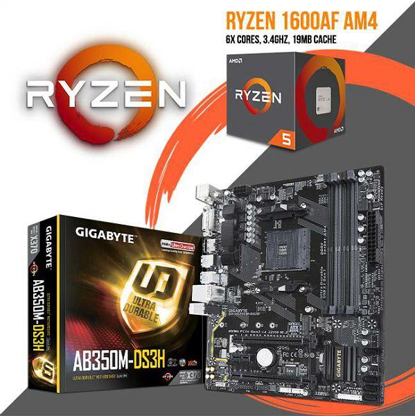 FIT Upgrade KIT (Ryzen 5 1600 AF + B350 AM4), R5-B350