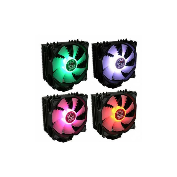 Hladnjak LC-Power Cool LC-CC-120 RGB,Intel/AMD + AM4, lcp-lc-cc-120rgb