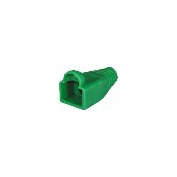 NaviaTec PVC Boot for Western 8 8-plug green 10pc, NVT-SR-211