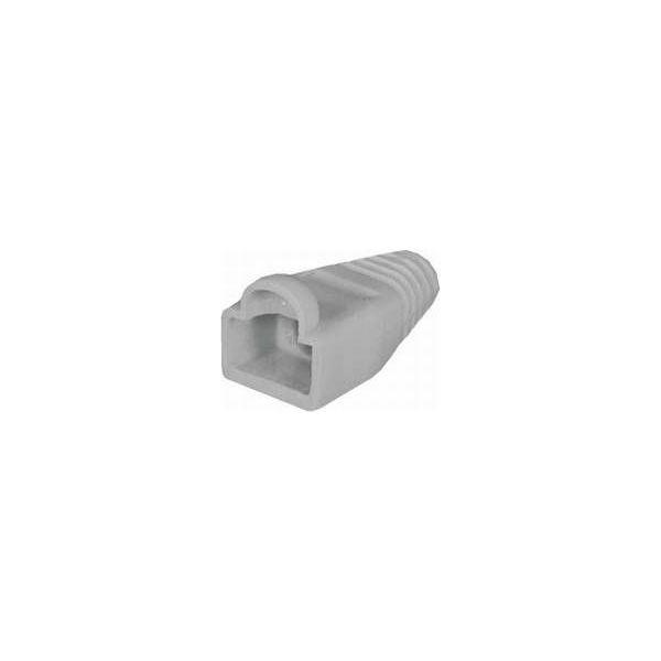 NaviaTec PVC Boot for Western 8 8-plug grey 10pc, NVT-SR-212