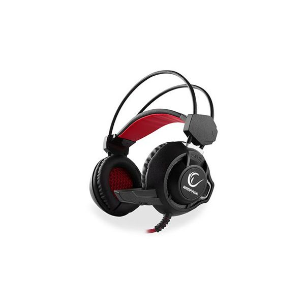 Slušalice RAMPAGE SN-RW2 s mikrofonom, crne, 151.100.041