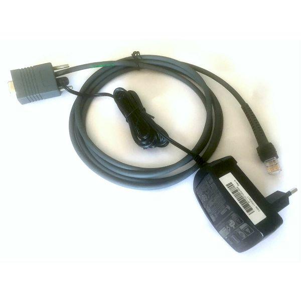 Serijski kabel i ispravljač za  Symbol bar kod č., sym-ser-cab