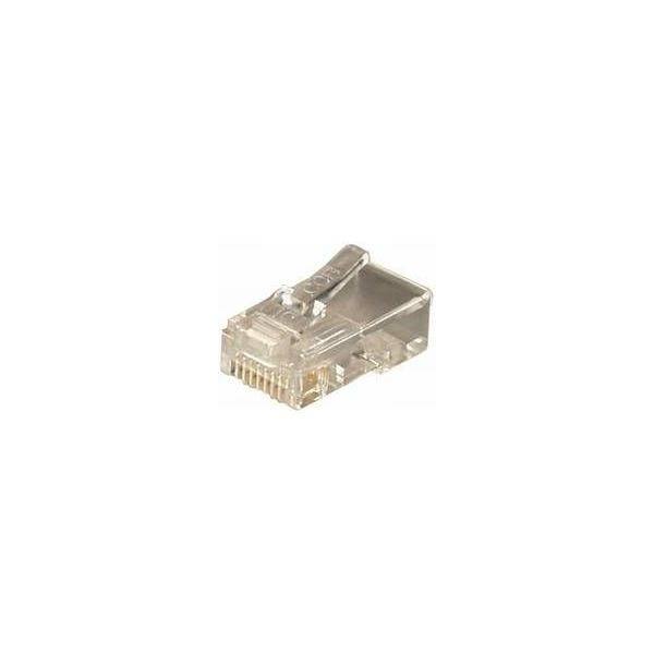 Transmedia RJ45 connector for round cable, TRN-TS-14-8RL