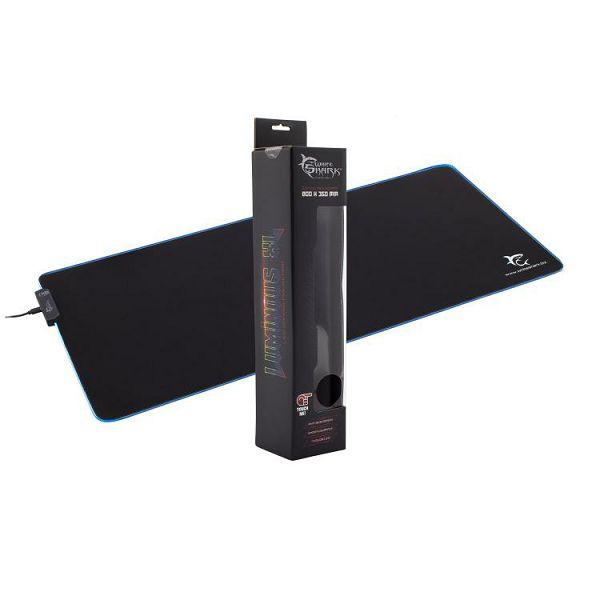 WHITE SHARK gaming LED podloga za miša LUMINOUS XL 80x35cm, 0616320538637