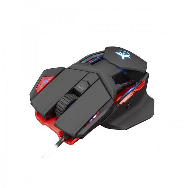 WHITE SHARK RGB gaming miš LANCELOT crni 6400dpi, 0616320539733